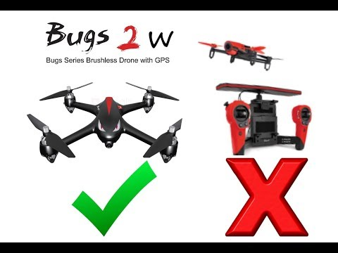 Is this drone better than the Parrot Bebop?| Mjx bugs 2 Wifi|500m wifi range review and range test