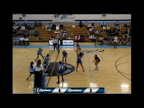 Pueblo West high school volleyball vs Doherty high school