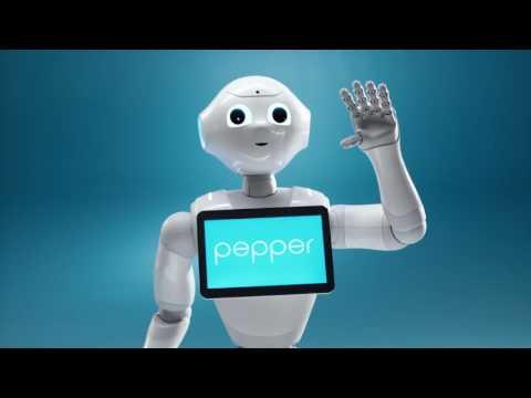 Meet Pepper the Robot | Softbank Robotics