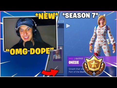 CIZZORZ Reacts to *NEW* SEASON 7 BATTLE PASS (FORTNITE SEASON 7)