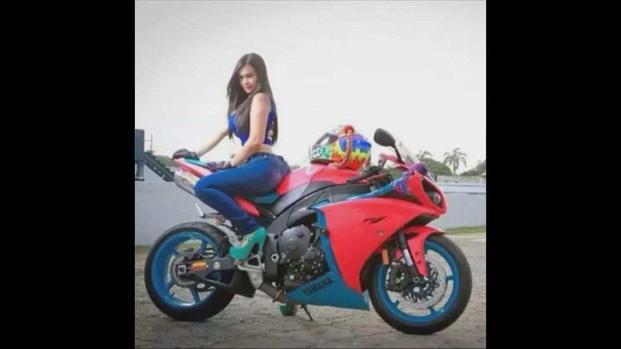 New Smoking Girl Wallpaper New Pink Blue Hot Chick Yamaha R1 Girl Burnout Wheelspin