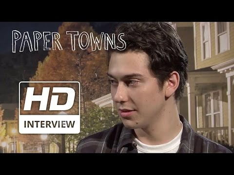 Paper Towns | 'Nat Wolff & Cara Delevingne - Either/ Or' | Official HD Interview 2015