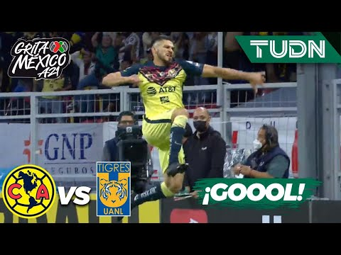 ¡Golazo! Henry finaliza | América 1-0 Tigres | Grita México AP2021 - J15 | Presentado por Autozone