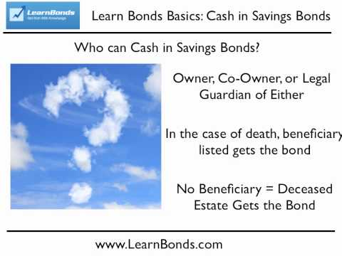 How To Cash In Savings Bonds - Step By Step Instructions