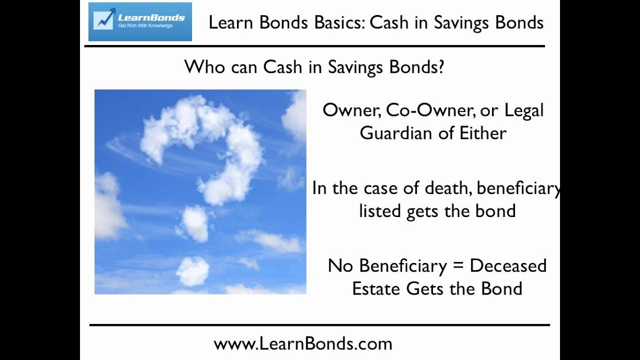 How to cash in savings bonds step by step instructions youtube 1betcityfo Choice Image