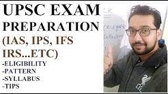UPSC EXAM ELIGIBILITY PATTERN SYLLABUS TIPS FOR IAS IPS IFS IRS | CRACK UPSC EXAM