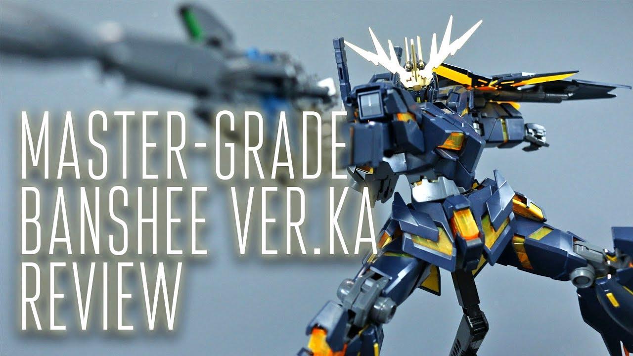 1538 Mg Unicorn Gundam 02 Banshee Ver Ka Oob Review Youtube