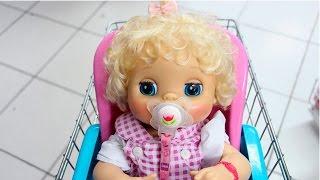 Baby Alive  Compras no Shopping para Clarabela com BIA LOBO