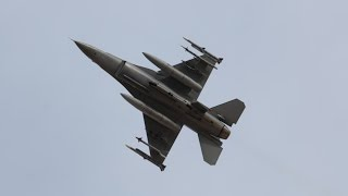 [4K] Exercise Red Flag Jet Fighters Takeoff at Nellis AFB, F-15, F-16, F-18, Typhoon and more