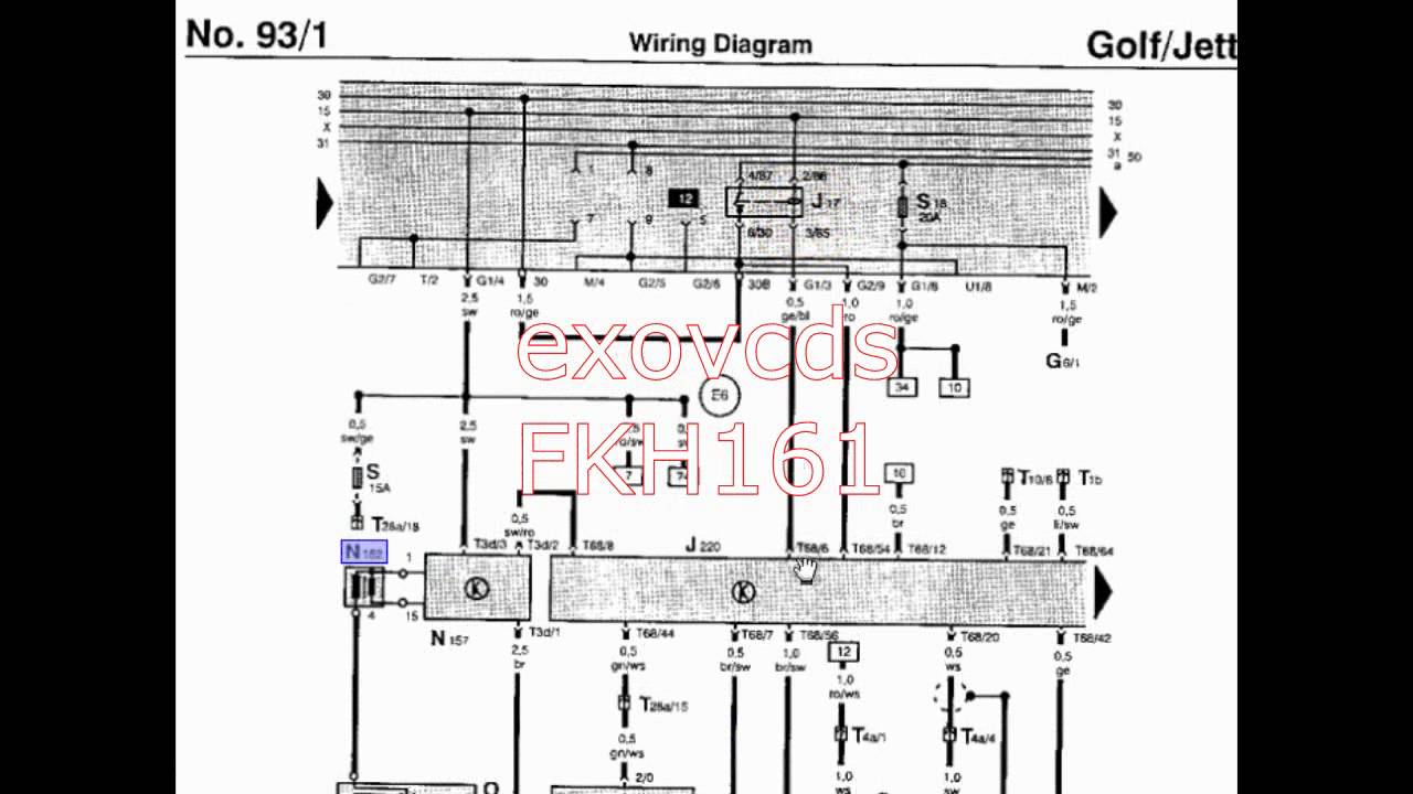 Reading Making Sense Of Wiring Diagrams Helping A Viewer Youtube Din Diagram Symbols