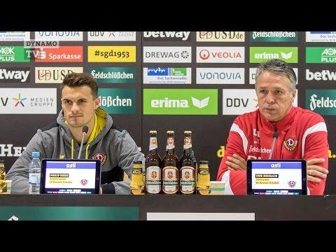 32. Spieltag   SGD - TSV   Pressekonferenz vor dem Spiel