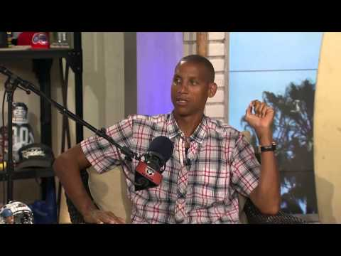 "Reggie Miller talks about ""The Malice at the Palace"" 08/07/2015"