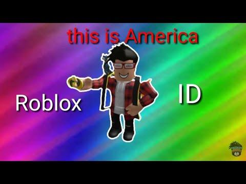 this is america childish gambino roblox id