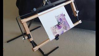 Станок для вышивки Monstrik от OmanikFactory. Нужен совет вышивальщиц!(Я стала обладателем замечательного станка от таллинских мастеров, но на данный момент у меня есть непонятк..., 2016-05-12T10:51:16.000Z)