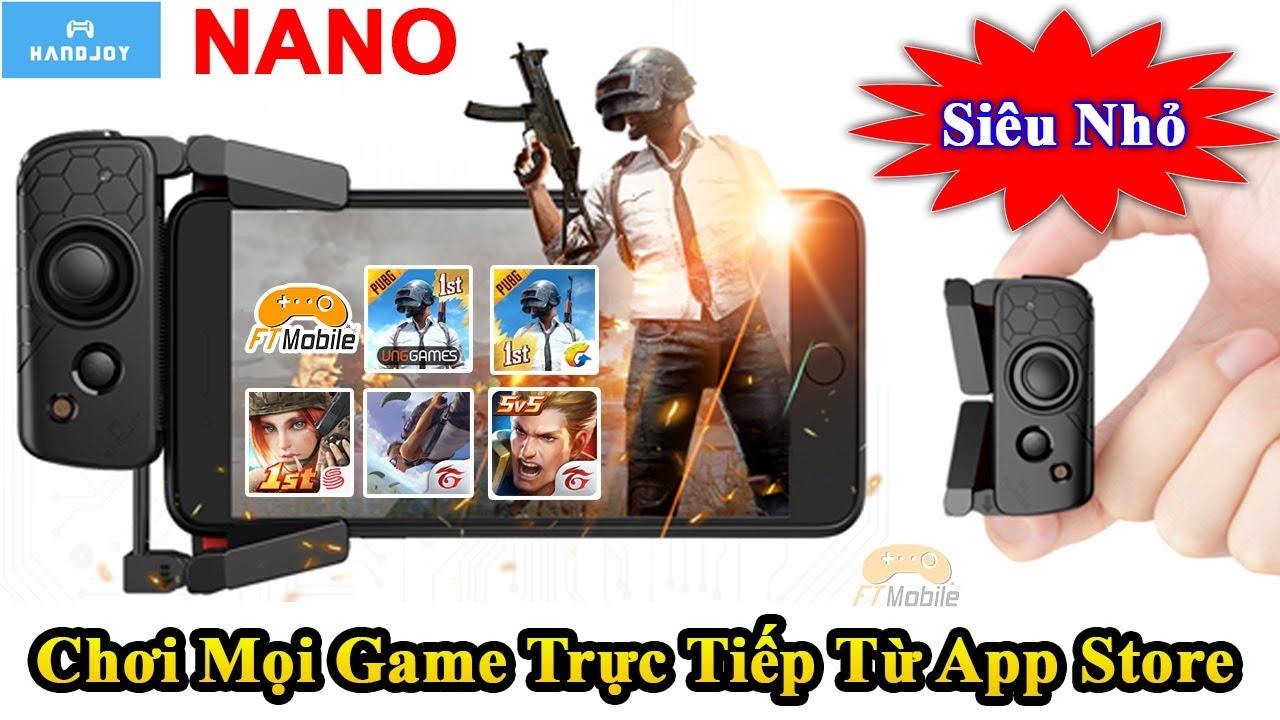 Tay Cầm Chơi Game Cho IPhone 1 Bên HandJoy NaNo – Chơi Mọi Game Trực Tiếp Từ App Store Không Band