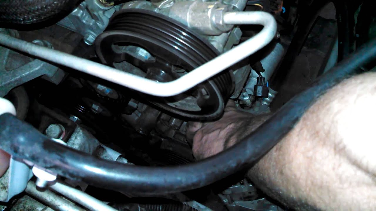 hight resolution of alternator replacement dodge journey 2009 2 4l install remove replace how to change
