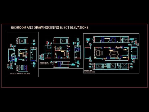 Electrical Design Autocad File Download Www Planndesign Com