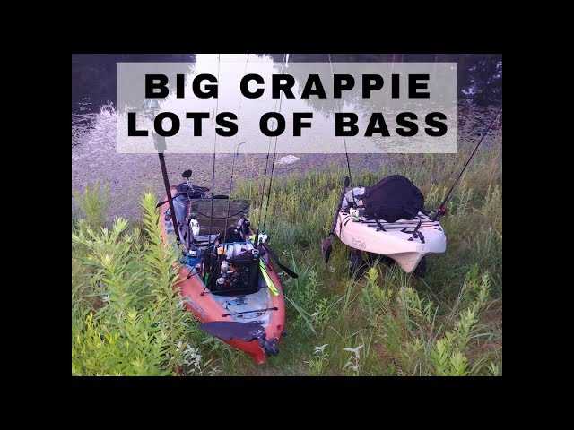 Big Crappie, Lots of Bass | Fishing With A Friend And Subscriber | Exploring New Waters Ep. 3