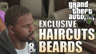 "ALL EXCLUSIVE HAIRCUTS & BEARDS ON GTA 5 - Grand Theft Auto Collectors Edition""GTA V Gameplay"""