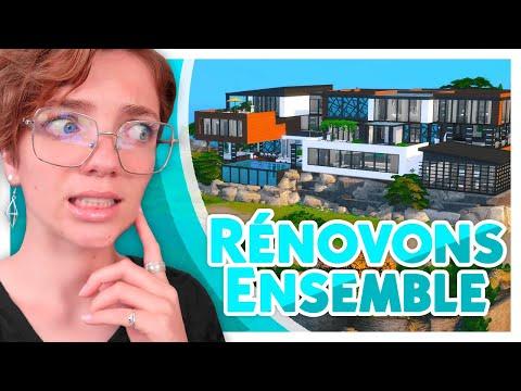 Structure de Base ! #1 Rénovons la Villa à 2 Millions !   Les Sims 4 🛠️
