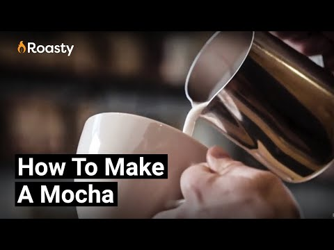 How To Make A Mocha At Home - Simple Chocolate + Espresso Drink Recipe
