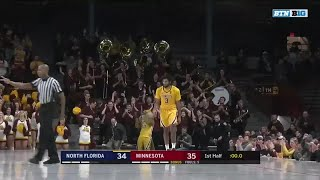 First Half Highlights: North Florida at Minnesota | Big Ten Basketball