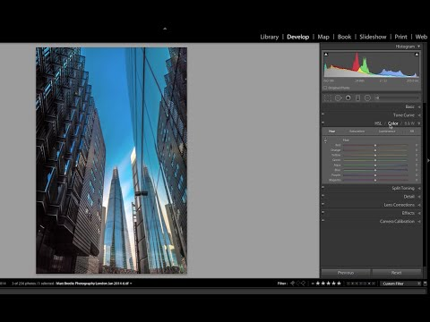 How to use the HSL Sliders and colour picker in Lightroom