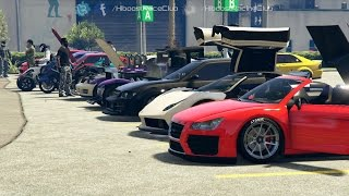 Grand Theft Auto V Online (PS4) | LS2K16 Meet | Turbo Hakuchou, Stage 6 Comet, Airport Drags & More
