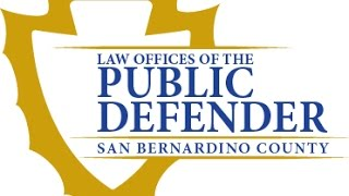 San Bernardino County Public Defenders office presents Proposition 47