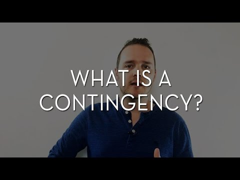 What Is A Contingency?