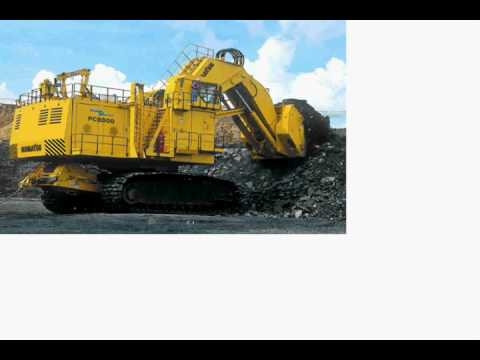 some mining equipment and home equip.