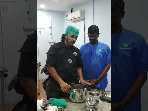 Pressure Cooker Sterilization Of Instruments For Surgery