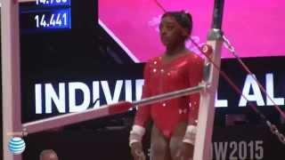 Simone Biles - Uneven Bars - 2015 World Championships - All-Around Final