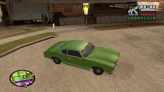 GTA San Andreas  - The Green Sabre - Los Santos Finale Mission 2