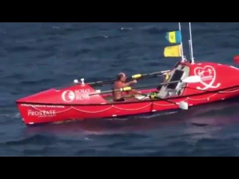 Rowing solo across the Pacific