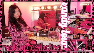 ♥ Vanity Tour & Makeup Collection (updated) 2014 | Juicydaily ♥