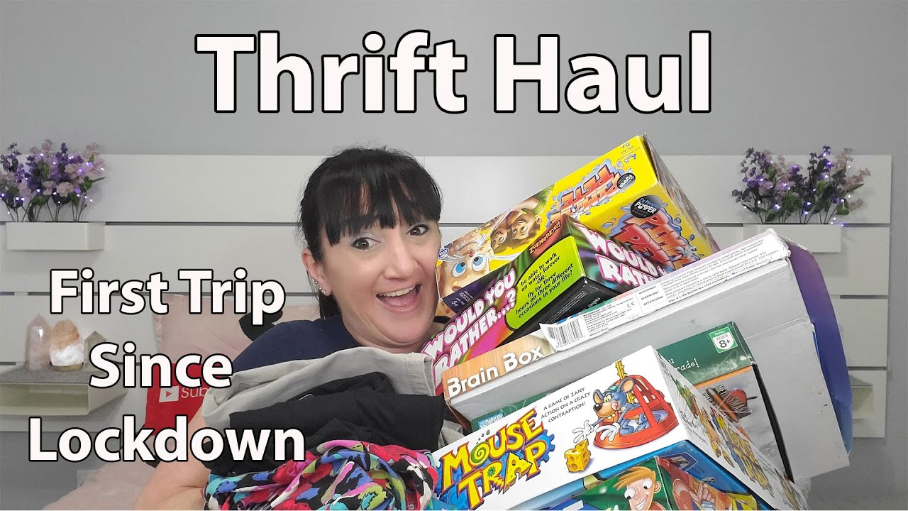 My First Thrift Haul Since Lockdown | Buy One Get One Free Toys And Games Plus More