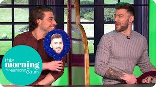 The Kem Cetinay and Jake Quickenden Bromance Continues!   This Morning