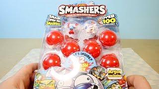 Спортивные Монстры в Безумных Шарах SmasherS обзор игрушек Смешерс