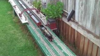 o gauge bowman 234 live steam loco and 6 bowman coaches garden railway