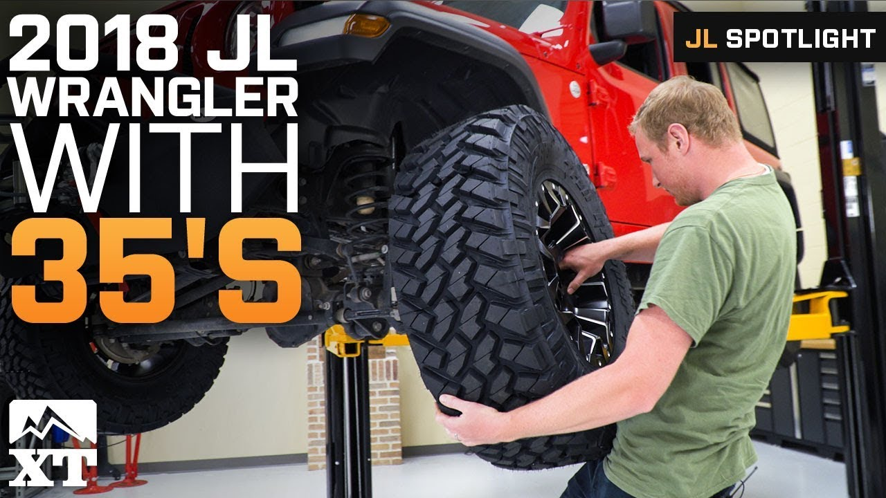 35x At Tire Rack >> How To Fit 35 Tires On Your 2018 Jeep Wrangler Jl