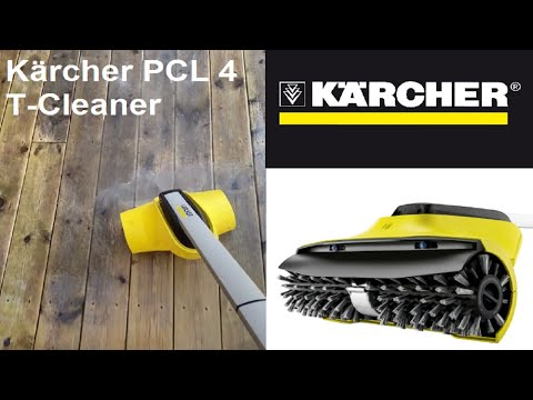 First test Kärcher PCL 4 T-Cleaner