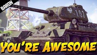 THANK YOU, YOU'RE AWESOME (War Thunder Gameplay)