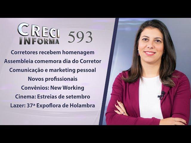 Homenagens Dia do Corretor de Imóveis e Marketing Pessoal | CRECI Informa - Edição 593