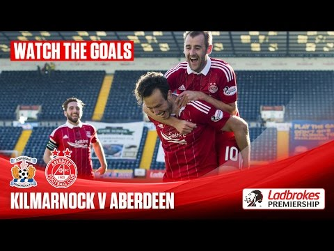 Aberdeen cruise to big win at Killie