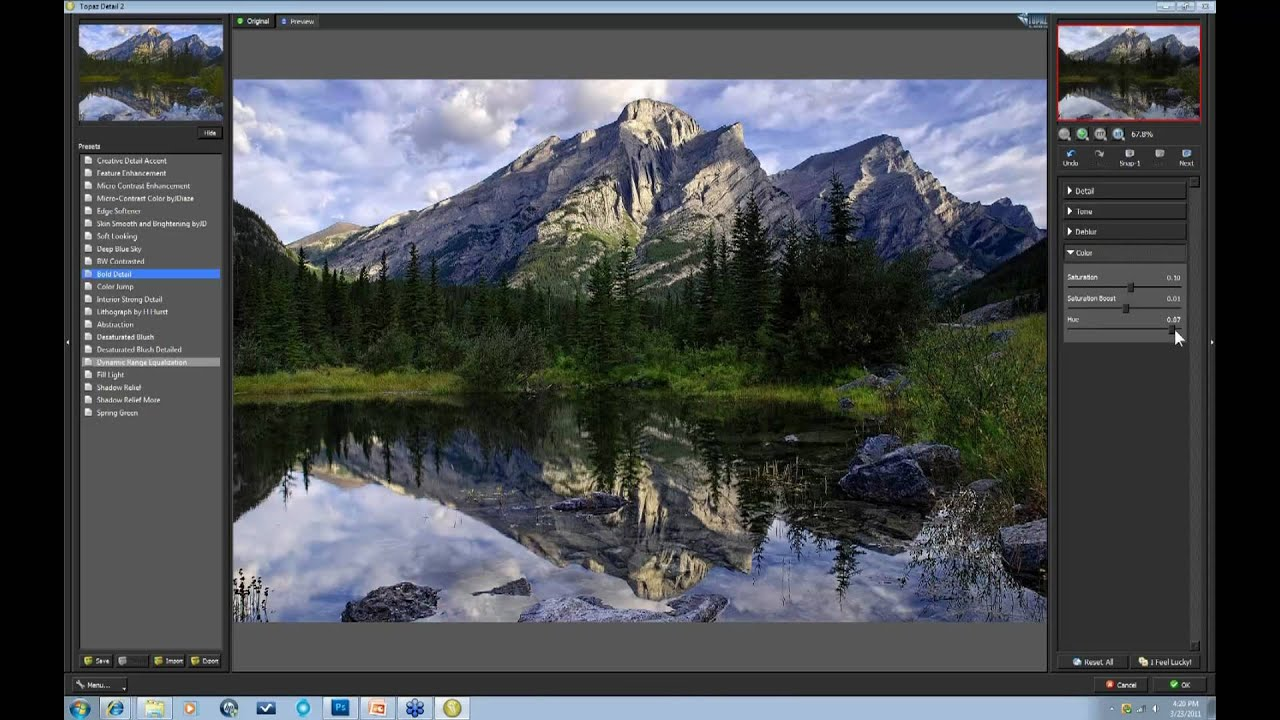 Enhancing Nature's Detail with Topaz Detail