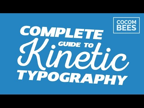 Kinetic Typography Quick Tutorial
