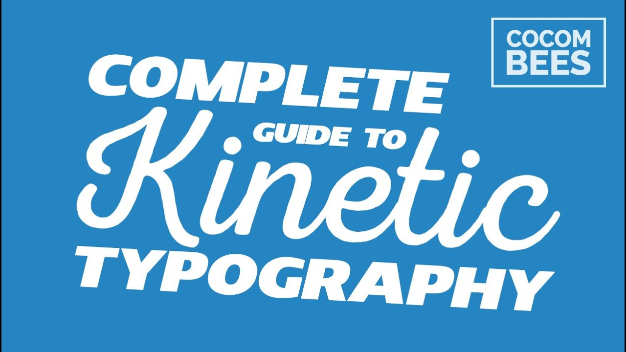 kinetic typography quick tutorial ᴴᴰ youtube