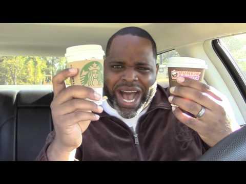 Pumpkin Spice Latte - Dunkin Donuts vs. Starbucks