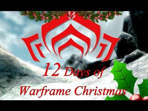 12 Days of Warframe Christmas